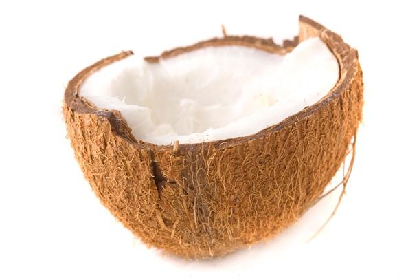 La noix de coco riche en fibres, en sels minéraux et vitamines